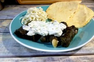 Middle Eastern Meat-Stuffed Grape Leaves | Authentic and Delicious | From MealPlanHQ