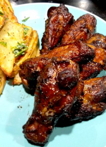 Slow Smoked Grilled Chicken Wings Recipe is a delicious way to do chicken at your next BBQ
