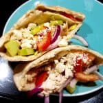 Healthy Greek Chicken Pitas
