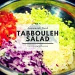 Homemade Tabbouleh Salad Picture