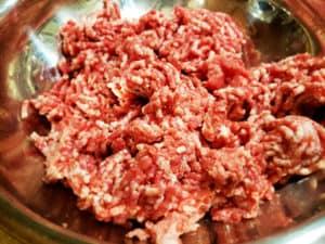Lamb Bacon Burgers Ground
