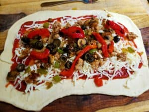 Stromboli Supreme Topped