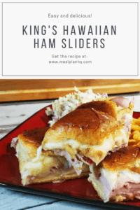 king's hawaiian ham sliders