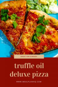 Deluxe Truffle Oil Homemade Pizza Pin