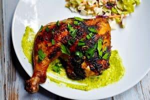 Garlic Herb Grilled Chicken Legs