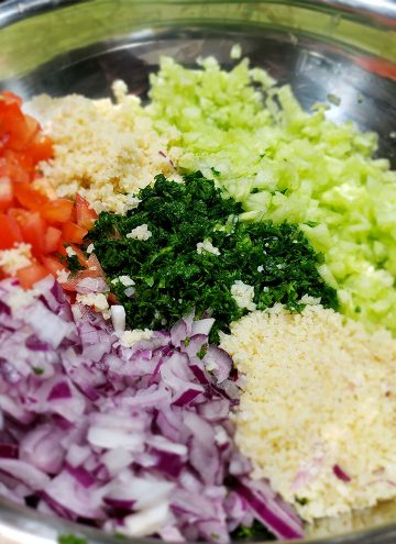 Homemade Tabbouleh Salad Recipe