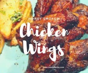Honey Smoked Chicken Wings Recipe FB