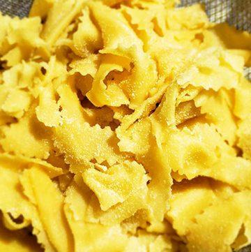 Instant Pot Short Rib Ragu Over Homemade Parpadalle Noodles
