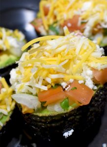 Pico De Gallo Stuffed Baked Avocado Recipe Stuffed Unbaked