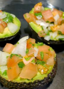 Pico De Gallo Stuffed Baked Avocado Recipe Stuffed Unbaked No Cheese