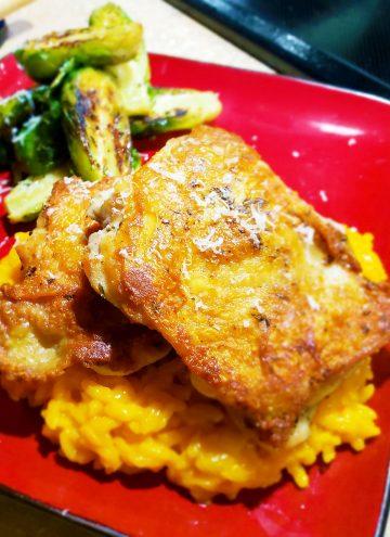 Sous Vide Crispy Skin Chicken Thighs Recipe