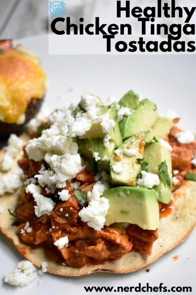 Chicken Tinga Tostadas Recipe