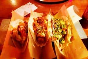 Velvet Taco - Chicken Tikka Masala Shrimp Grits Angus Brisket