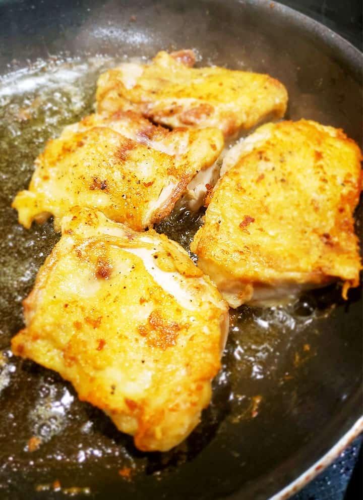 Chicken Marsala Recipe Crispy Chicken Thighs