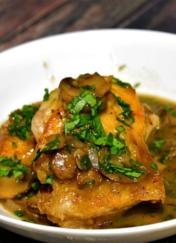 Chicken Marsala Recipe from Nerd Chefs
