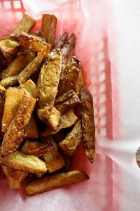 Duck Fat Oven Fries