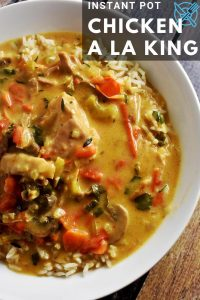 Instant Pot Chicken a la King Recipe