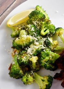 Lemon Parmesan Roasted Broccoli Recipe
