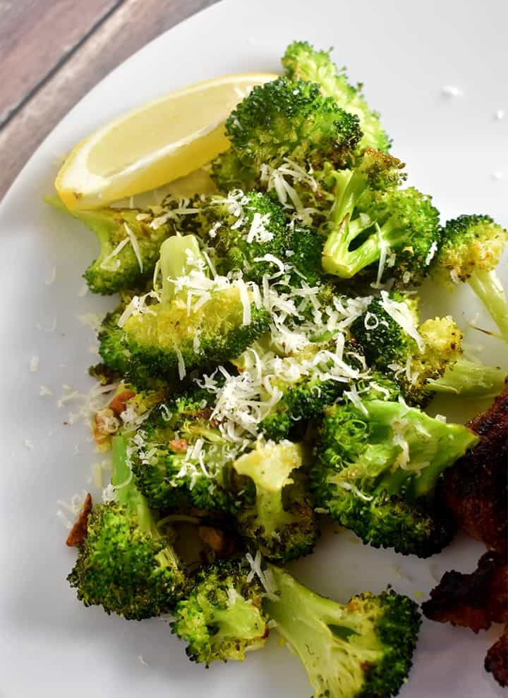 Lemon Parmesan Roasted Broccoli Recipe