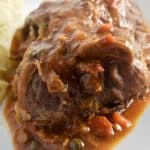 Instant Pot Beef Braciole