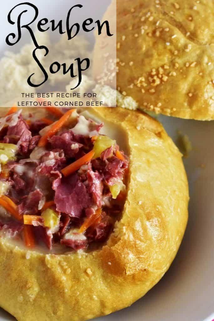 Instant Pot Reuben Soup