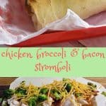 Chicken Broccoli Stromboli Recipe