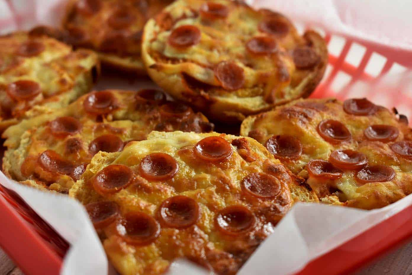 Homemade Pizza Bagels That Kids Love Nerd Chefs