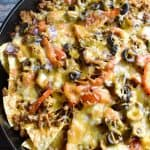 Loaded Nachos with Chorizo