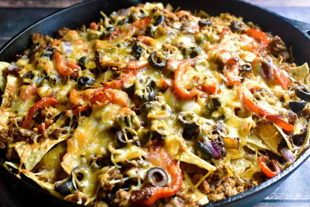 Loaded Nachos with Chorizo Recipe