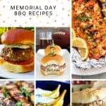 Photo Collage of Memorial Day Recipe Ideas