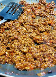 Sloppy Joe Meat in Pan
