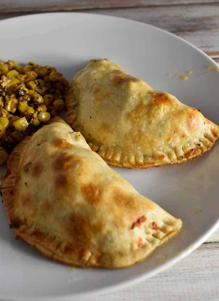 chicken and broccoli empanadas