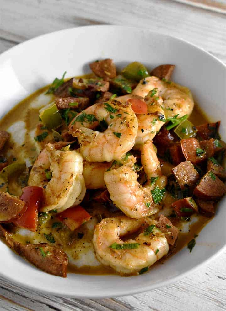 cajun shrimp and grits recipe