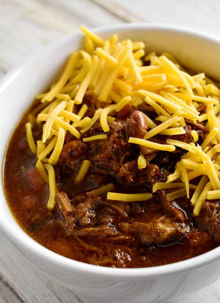 Instant Pot Chili with Brisket