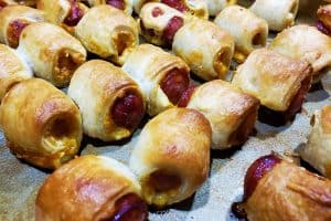 cooked pigs in blanket