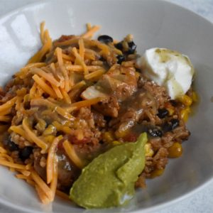 instant pot chicken burrito bowls recipe