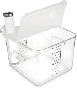 sous vide container