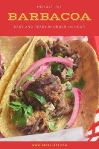 Instant Pot Barbacoa for pinterest