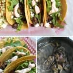 mushroom tacos for pinterest